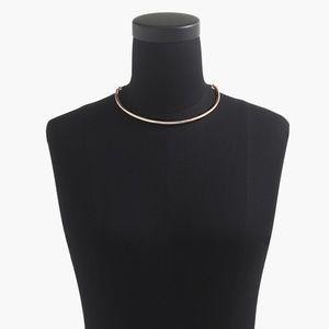 J. Crew Simple collar necklace